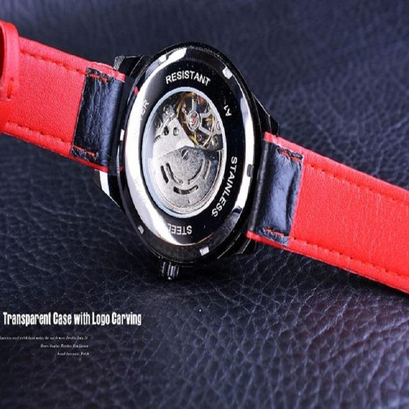 Forsining  Waterproof Skeleton Men Automatic Watch