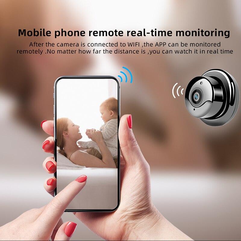 WIFI Home Security Monitoring Camera Mini Night Vision V380 HD 1080P