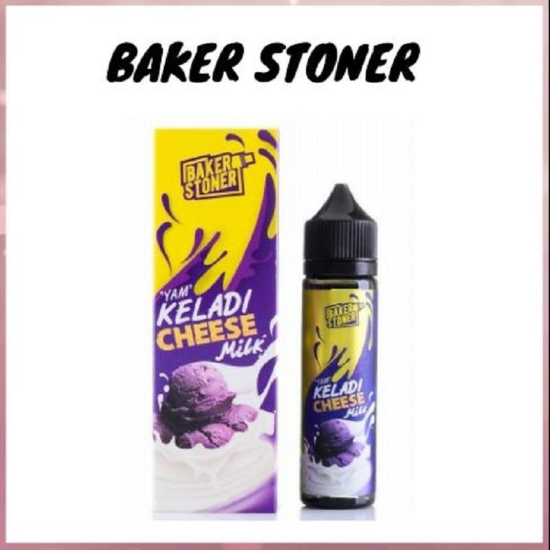 Baker Stoner Yam Keladi Cheese Milk E Liquid E Juice Flavor E Vape