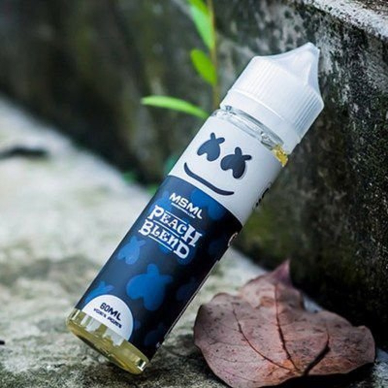 Peach Blend E Liquid By MSML Marshmallow