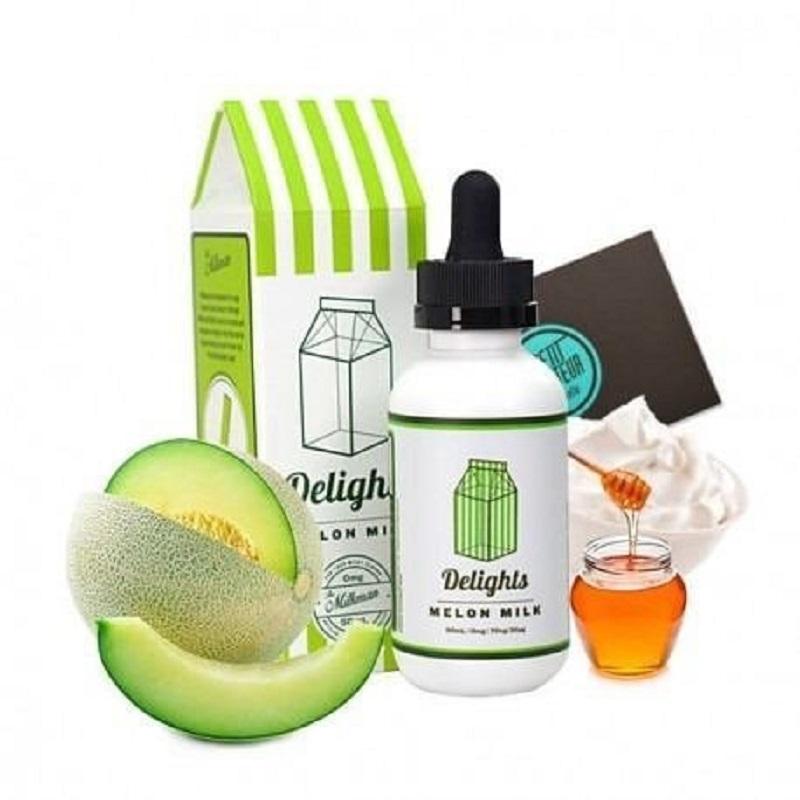 E Liquid Melon Milk By The Milkman Delights