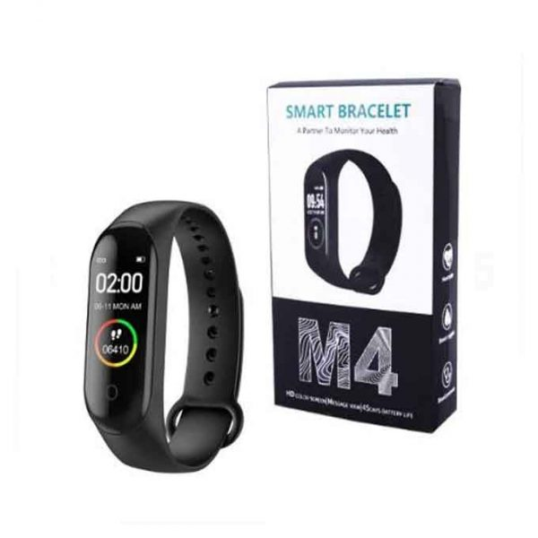 M4 PLUS HEALT BAND B.P FITNESS HEART RATE MONITOR (COPY)