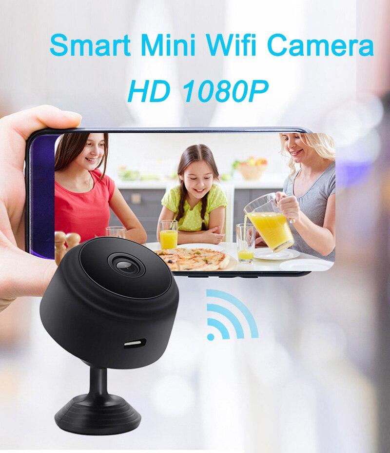 A9 1080P HD MAGNETIC WIFI MINI CAMERA