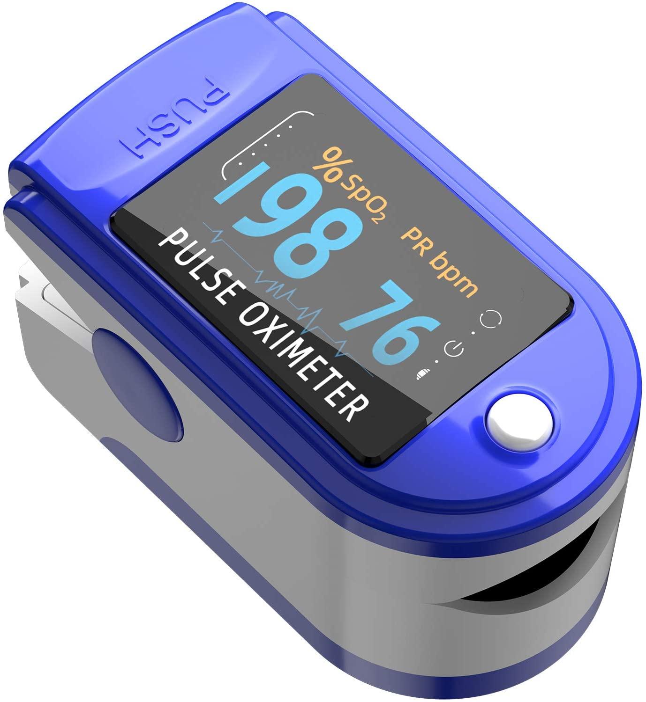 Finger Print Pulse Oximeter