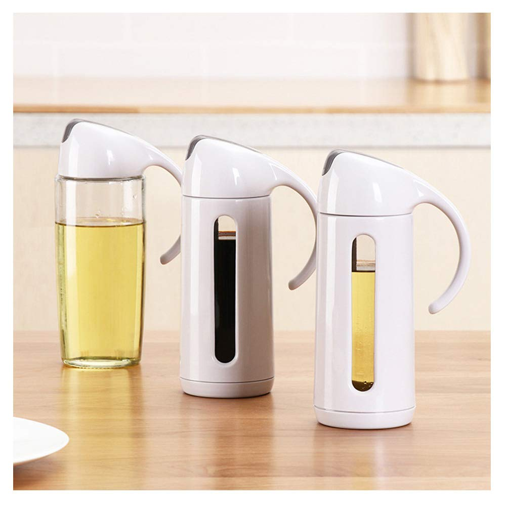 320ml kitchen oil pot oil sauce drip catcher home Jar vinegar seasoning Oiler seasoning bottle