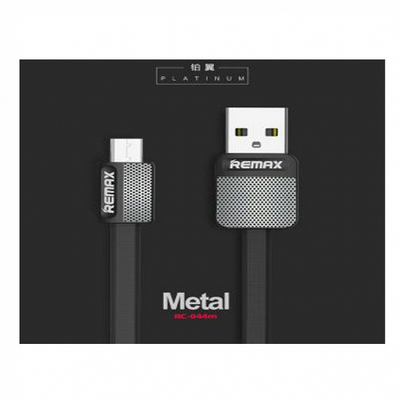 Remax Platinum Series Data Cable For Type-C RC-044a - Black