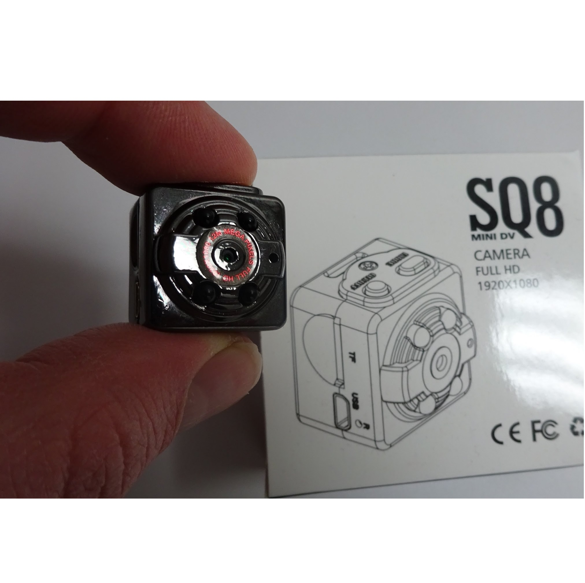 Mini Camera SQ8 Night Vision
